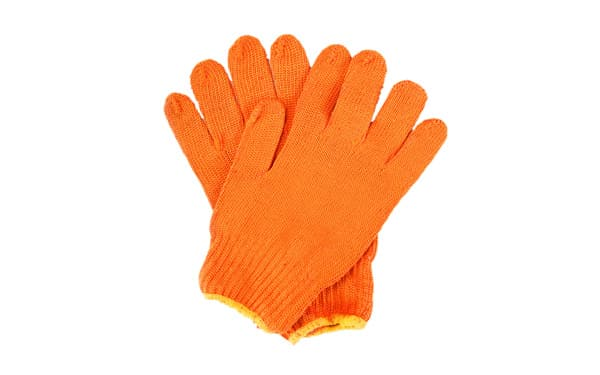 cotton gloves for moving goods