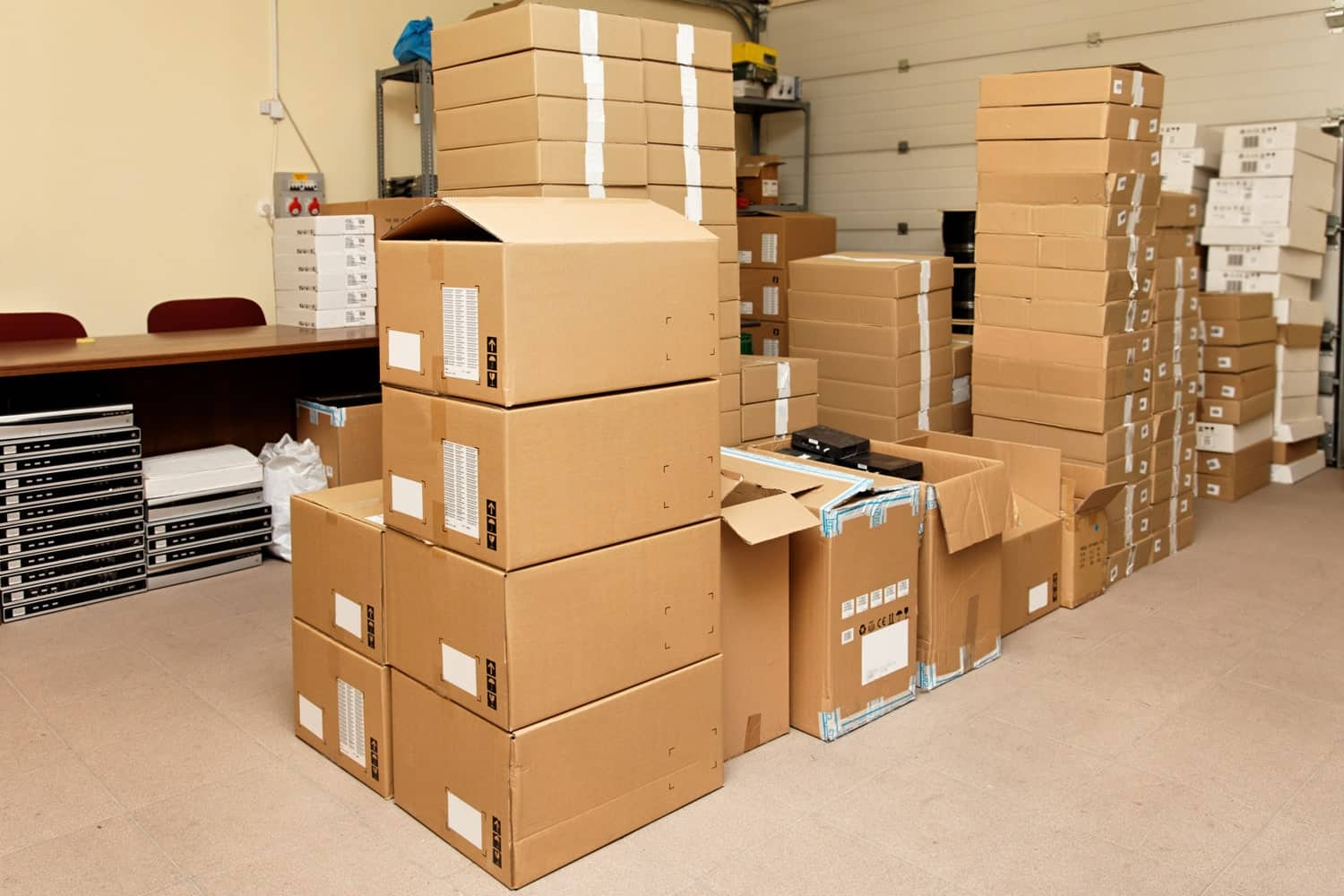 Commercial good and documents in Total Self Storage South Oakleigh