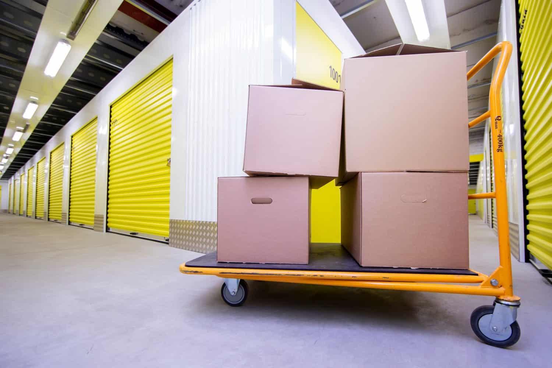 Storage rooms in Total Self Storage
